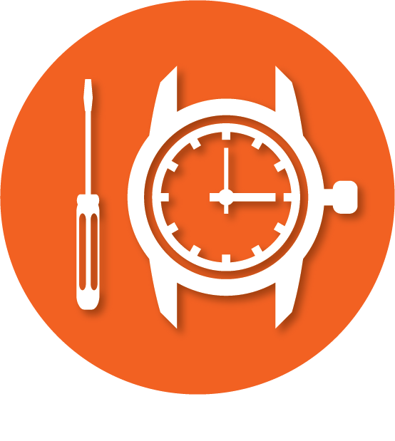 Horloge Service McFlek